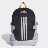 Adidas BP Power V [GE3328] 後背包 健身 運動 休閒 上學 加厚肩帶 耐磨 電腦 黑灰
