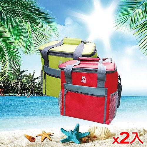 2件超值組GRIZZLY 保冷袋GLB1900R-綠(19L)【愛買】