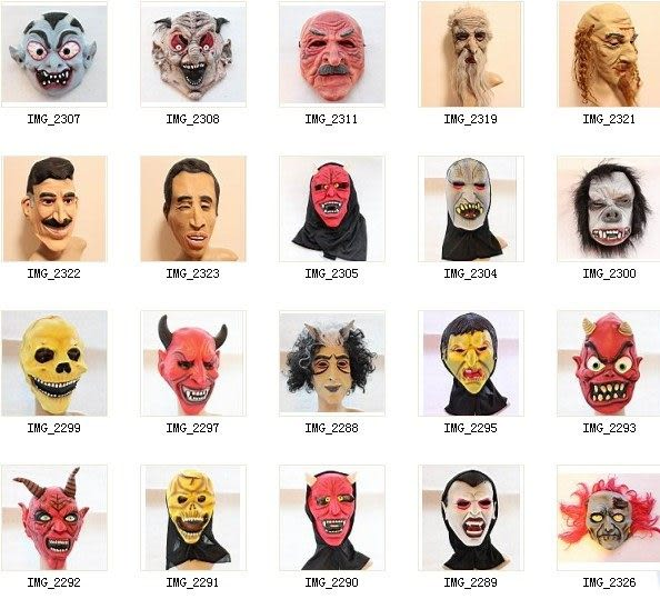 cos面具萬聖節面具
