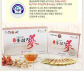 韓國~不老健紅篸茶  3g*100入一盒【花想容】