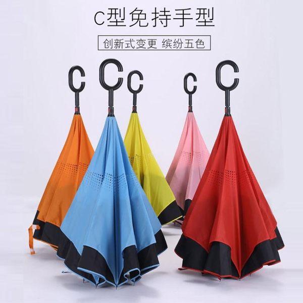 反向傘雙層免持式雨傘DSHY