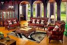 【大熊傢俱】 RE 912  新古典沙發 法式 凡賽宮 實木沙發 皮沙發 巴洛克 歐式沙發  真皮 美式新古典