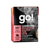 go! 鮮食利樂貓餐包 豐醬系列 無穀海洋鮭鱈182g 24件組