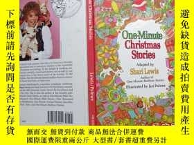 二手書博民逛書店One罕見Minute Christmas StoriesY19
