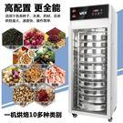 乾果機大型商用烘焙機乾果機烘箱水果蔬菜脫水風乾機臘腸食物烘乾機食品 小明同學 220V igo