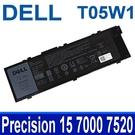 DELL T05W1 原廠電池 0FNY7 1G9VM GR5D3 M28DH MFKVP RDYCT TO5W1 Precision 15 17 7000 7520 7510 17 7720 7710 M7510 M7710