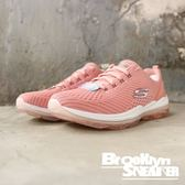 SKECHERS Air-Cooled 裸粉 網布 粉 冰底 休閒 健走 女 (布魯克林) 2019/1月 12671ROS