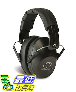 [美國直購] Walkers Game Ear Pro-Low Profile Folding Muff,GWP-FPM1 Black遊戲耳機