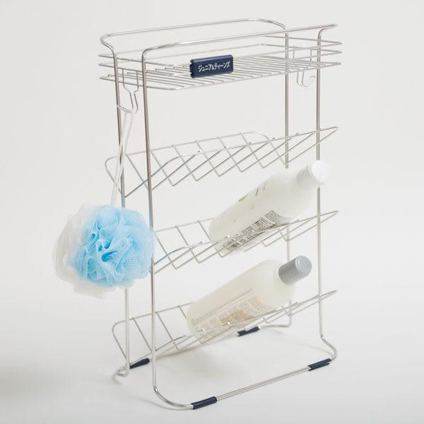 不鏽鋼 廁所浴室收納架 浴室置物架【E0005】不鏽鋼吊式沐浴瓶罐架MIT台灣製 完美主義