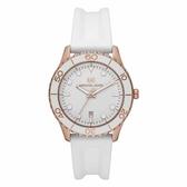 Michael Kors 休閒運動風時尚腕錶-白-MK6853