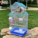 鳥籠 鸚鵡鳥籠大中型鳥籠子虎皮八哥文鳥珍珠鳥籠家用豪華繁殖別墅籠 快速出貨