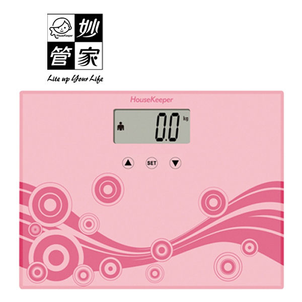 House Keeper 妙管家 輕巧健康秤 /體重計 HKEB-0270  《刷卡分期+免運》