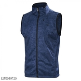 MIZUNO 男裝 背心外套 休閒 防風 防潑水 合身版型 牛仔藍【運動世界】32TE059720