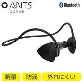 Hamee 自社製品 超輕量4.1藍芽多功能頸掛式 防水防汗 免持運動型無線藍牙耳機 (黑色) 276-860700