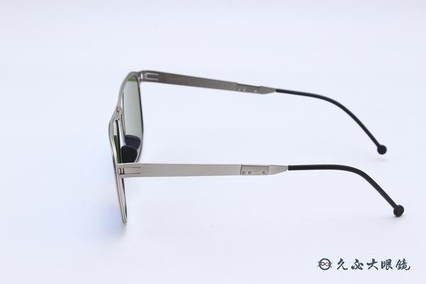 ROAV 偏光太陽眼鏡 Echo - Mod.8203 ( 銀框/藍水銀 ) 薄鋼折疊墨鏡