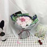 母親節香皂花禮盒仿真玫瑰花束送女友ins花束畢業生日情人節禮物  米娜小鋪 YTL