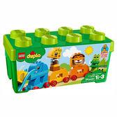 樂高積木 LEGO《 LT10863 》2018 年 Duplo 幼兒系列 - 我的第一個動物顆粒盒 ╭★ JOYBUS玩具百貨