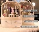 網紅化妝品收納盒整理桌面防塵家用