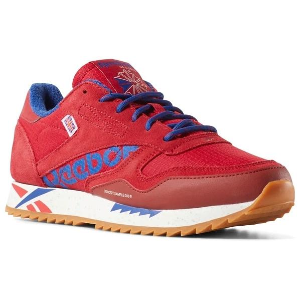 REEBOK CLASSIC LEATHER RIPPLE ALTERED 女鞋 休閒 膠底 緩震 舒適 紅【運動世界】DV7196
