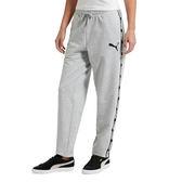 Puma Rebel Pants 女 黑 白 潮流棉質運動長褲 寬版棉褲 嘻哈 饒舌 風格 衛衣 基本系列 85074804