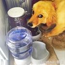寵物餵食器 狗狗飲水器 寵物自動喂食器小狗喝水器貓飲水器水壺狗碗寵物用品 樂活生活館