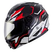 【SOL SM-2 猛禽 黑白紅 可掀 可樂帽 全罩式 安全帽 SM2 】雙層隱藏墨片、加贈好禮