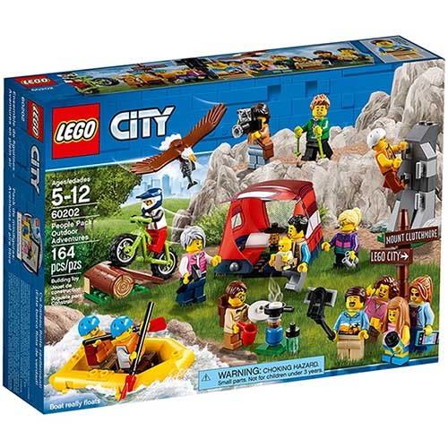 樂高積木 LEGO《 LT60202 》2018 年 City 城市系列 - 樂高城市系列戶外探險人偶組 ╭★ JOYBUS玩具百貨