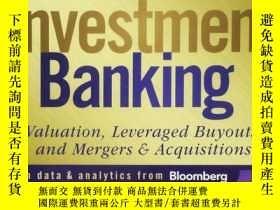 二手書博民逛書店罕見Investment Banking: Valuation