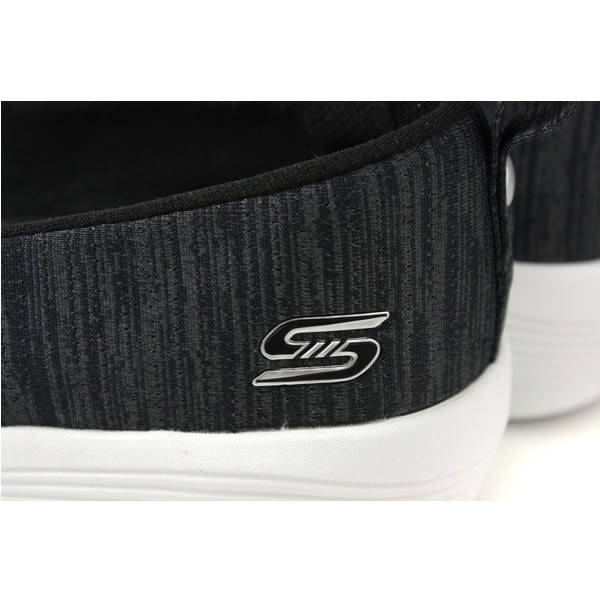 SKECHERS flex 懶人鞋 運動鞋 女鞋 黑色 23752BKW no954