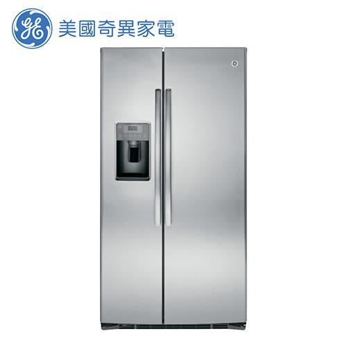 [GE 美國奇異家電]733公升不銹鋼對開冰箱 GSE25HSSS