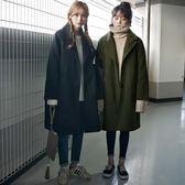 新款韓版中長款毛呢外套女冬季韓國冬裝學生加厚 韓慕精品