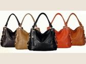 手提包-真皮必備簡潔新款女肩背包6色8b14【巴黎精品】