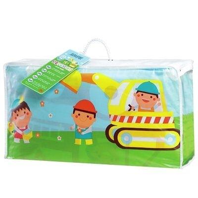 3M 新絲舒眠兒童午安被睡袋、防塵螨小寶貝午安睡袋-推土機 專為3至6歲嬰幼兒設計【艾保康】
