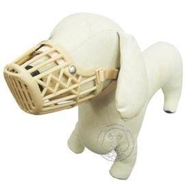 【 培菓平價寵物網】《沛貝兒》塑膠狗口罩 (106) 6號