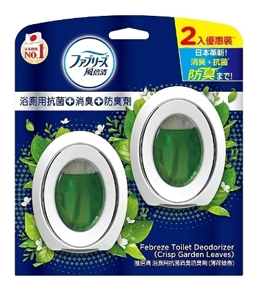 風倍清浴廁用抗菌消臭防臭劑6ml 山谷微香/清爽皂香/薄荷綠香【2入】