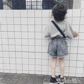 女童短褲 女童牛仔短褲韓版時尚兒童褲子女高腰寶寶牛仔褲 傾城小鋪