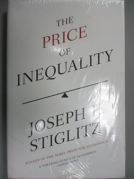 【書寶二手書T5/政治_EVK】The Price of Inequality: The Avoidable Cause