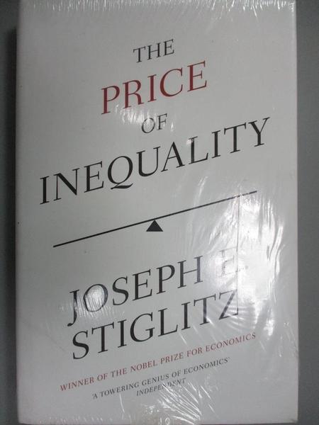 【書寶二手書T3/政治_WER】The Price of Inequality: The Avoidable Cause