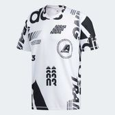 ADIDAS FREELIFT DAILY PRINT 男裝 短袖 休閒 吸濕 排汗 白 黑【運動世界】DX9513