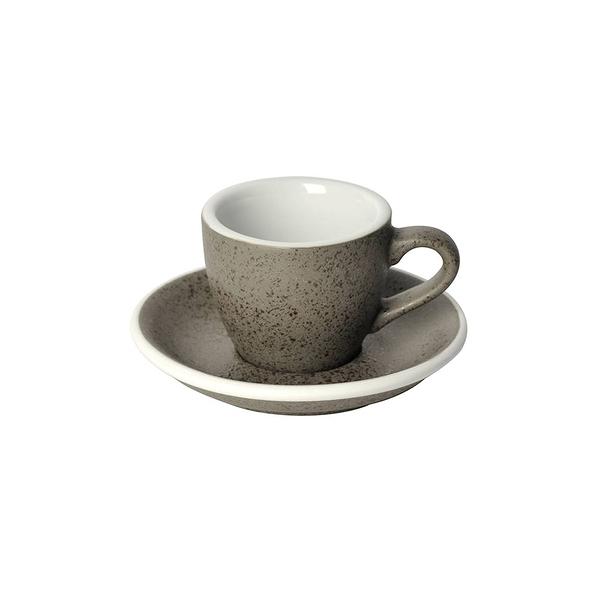 Loveramics Coffee Pro-Egg濃縮咖啡杯盤組80ml(花崗岩)