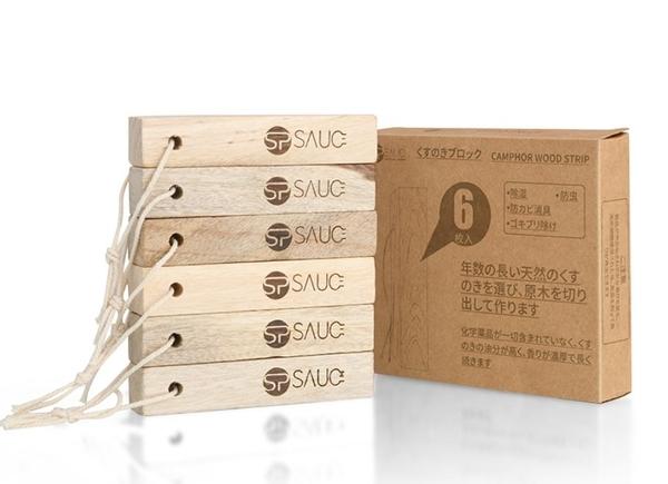 日本天然樟木條樟腦丸衣櫃防黴防蟲防潮芳香去味驅蟲6枚裝
