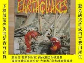 二手書博民逛書店16開《EARTHQUAKES》地震罕見見圖Y27203 Way