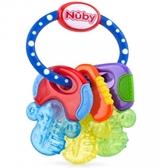 小饅頭**Nuby 冰膠固齒玩具-鑰匙造型(048526004553)