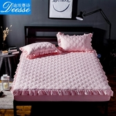 加厚床套床罩席夢思床墊保護套防塵罩單件夾棉床笠防滑 鉅惠85折