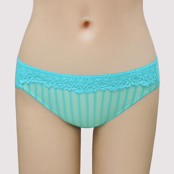 瑪登瑪朵-15SS-我挺妳軟棉圈  低腰三角棉褲(心鑽藍)(小褲未購滿3件恕無法出貨,退貨需整筆退)