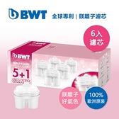 德國BWT鎂離子8周長效濾芯6入組