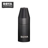 【EC數位】BOYA BY-35C-XLR PRO 麥克風 3.5mm TRS 母 – 卡儂 XLR 公 全鋁轉接頭