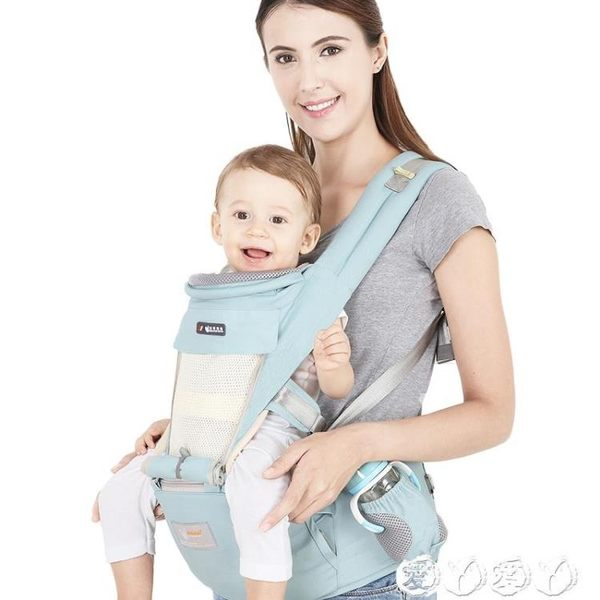 兒童腰凳 嬰兒背帶腰凳四季通用多功能前橫抱式小孩兒童抱帶寶寶抱娃神器單 【全館9折】
