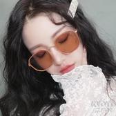 墨鏡女網紅淺色透明太陽鏡百搭潮新款韓版潮圓臉街拍防紫外線 京都3C