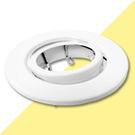 MR16-9-W(白) 9公分平嵌燈具